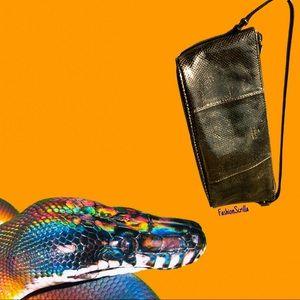 Gucci Tom Ford Vintage Y2K mini Python leather bag